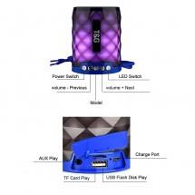 Mini altavoz portatil Bluetooth con Luz TG-155  - elige color