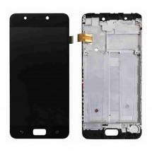 Pantalla LCD y táctil color negro Con Marco para Asus Zenfone 4 Max ZC520KL