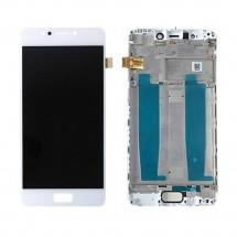 Pantalla LCD y táctil color blanco Con Marco para Asus Zenfone 4 Max ZC520KL