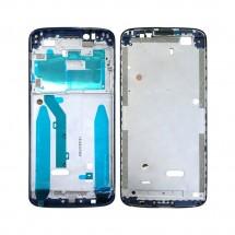 Marco frontal display color negro para Motorola G6 Play