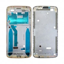 Marco frontal display color dorado para Motorola G6 Play