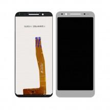 Pantalla completa LCD y táctil color blanco para Vodafone Smart N9 VFD720