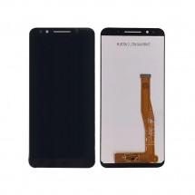 Pantalla completa LCD y táctil color negro para Alcatel 3X 5058