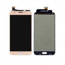 Pantalla completa LCD y táctil color dorado para Samsung Galaxy J3 2018 (J337)
