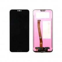 Pantalla completa LCD y táctil color negro con Huella para Huawei Honor 10