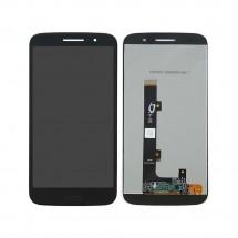 Pantalla completa LCD y táctil color negro para Motorola Moto M XT1662