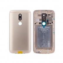 Tapa trasera color dorado para Motorola Moto M XT1662