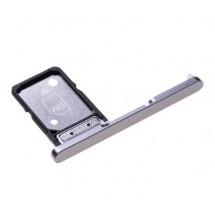 Bandeja porta tarjeta Sim color plata para Sony Xperia XA2 Ultra