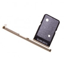 Bandeja porta tarjeta Sim color dorado para Sony Xperia XA2 Ultra