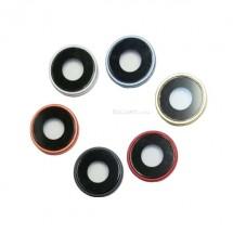 Cristal lente cámara con embellecedor para iPhone XR - elige color