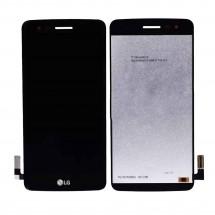 Pantalla completa LCD y táctil color negro para LG Aristo MS210