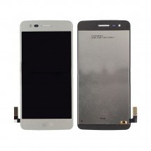 Pantalla completa LCD y táctil color blanco para LG Aristo MS210