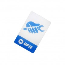 Herramienta lámina plastico Ufix para apertura pantalla y tapa móviles