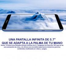 """Huawei Honor 7A 3Gb / 32Gb - 5.70"""" DUAL SIM - color Azul - NUEVO - 2 años de garantía"""
