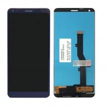 Pantalla completa LCD y táctil color azul para ZTE Blade V9