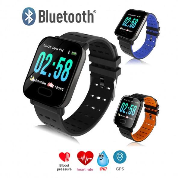 d415c78b161a Reloj inteligente Smartwatch A6 Deporte - Ritmo cardiaco - GPS ...