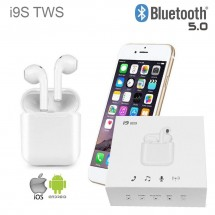 Auriculares i9S-TWS Bluetooth 5.0 para iPhone iOS y Android