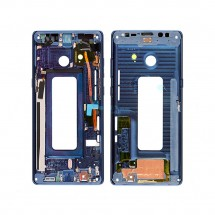 Marco frontal display color azul para Samsung Galaxy Note 8 N950F