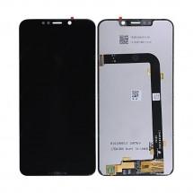 Pantalla completa LCD y táctil color negro para Motorola One Power / P30 Note