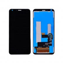 Pantalla completca LCD y táctil color negro para LG Q7 Q610 (2018)