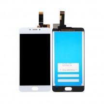 Pantalla completa LCD y táctil color blanco para Meizu M6 / Meilan 6