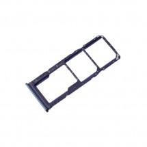 Bandeja porta tarjeta Sim y MicroSD color azul para Samsung Galaxy A9 2018 (A920)
