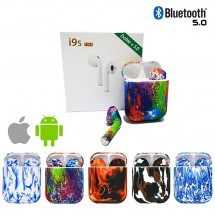 Mini Auriculares i9s-TWS Color Bluetooth V5.0 para iPhone iOS y Android - elige color