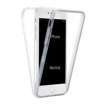 Funda TPU silicona transparente 360º para iPhone 7G