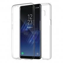 Funda TPU Silicona Transparente 360º para Samsung Galaxy S8 Plus