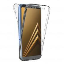 Funda TPU Silicona Transparente para Samsung Galaxy A8 2018 (A530F)