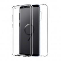 Funda TPU Silicona Transparente 360º para Samsung Galaxy S9