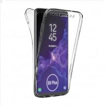 Funda TPU Silicona Transparente 360º para Samsung Galaxy S9 Plus