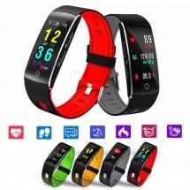 Smartband F10 Deporte - Ritmo cardiaco - IP68 - Notificaciones - elige color