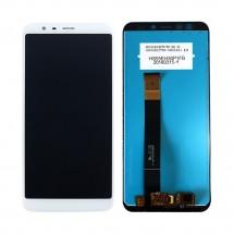 Pantalla completa LCD y táctil color blanco para Meizu M8c M809L