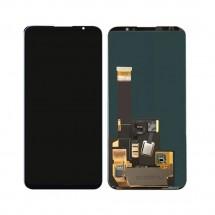 Pantalla completa LCD y táctil color negro para Meizu 16