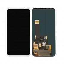 Pantalla completa LCD y táctil color blanco para Meizu 16