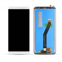 Pantalla completa LCD y táctil color blanco para Meizu M6T
