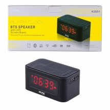 Altavoz bluetooth reloj color negro Ref. OP-K3551