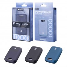 Batería externa Power Bank 10000 mAh - 2 USB - con indicador LED - Mode. OP-D4934 - elige color