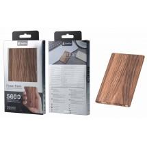 Batería externa Power Bank imitación madera extrafino 5600mAh - Mod. OP-D3992 - elige color