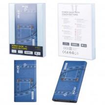 Batería externa Power Bank Jeans 12000mAh botón táctil - 2 USB - Mod. OP-DT807 - elige color