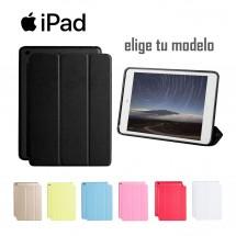 Funda tipo libro para iPad todos los moledos - elige color y modelo