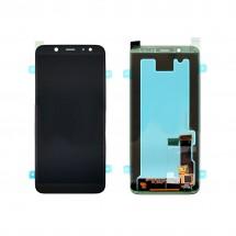 Pantalla completa LCD y táctil color negro para Samsung Galaxy A6 A600F