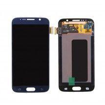 Pantalla LCD mas tactil color azul Samsung Galaxy S6 G920 (Swap)