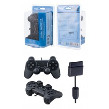 Mando Dual Shock color negro para Playstation PS2 - Ref. prod. OP-K3305