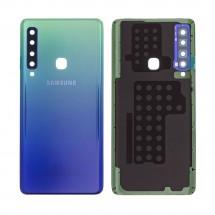 Tapa trasera color azul con cristal lente para Samsung Galaxy A9 2018 (A920)