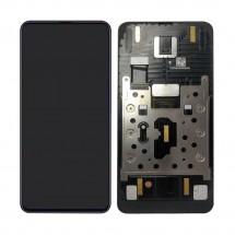Pantalla completa LCD y táctil con Marco color negro para Xiaomi Mi Mix 3