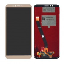 Pantalla completa LCD y táctil color dorado para Huawei Y9 2018 / Enjoy 8