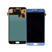 Pantalla completa Compatible LCD y táctil color azul para Samsung Galaxy J4 2018 (J400)