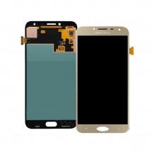 Pantalla completa Compatible LCD y táctil color dorado para Samsung Galaxy J4 2018 (J400)